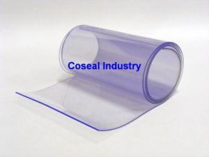 Het doorzichtige Gordijn van de Strook van pvc Plastic