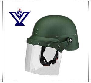 La Policía Militar del Ejército de casco y cascos Antidisturbios (SYSG-208)