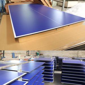 MDF de alta calidad en el interior de la Junta Superior de Tenis de Mesa/Ping Pong juego de tenis de mesa