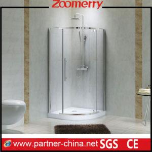 Un seul secteur de la porte en verre coulissante de cabine de douche