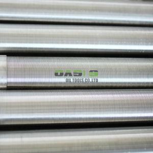 オアシス6 5/8の訓練のためのステンレス製の管スロット連続的な水十分スクリーン