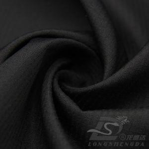75D 220t Water & Wind-Resistant Piscina Sportswear casaco para tecidos Plaid 100% poliéster Jacquard Pongées Fabric (E118)