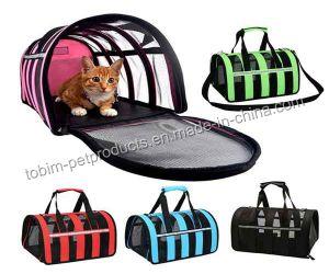 犬のケージの網通気性の折りたたみペット買物袋はボックスを運ぶ