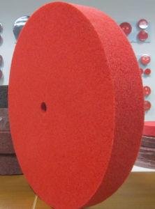 Het Oppoetsende Wiel van de rode Kleur voor het Staal van de Legering/Steen