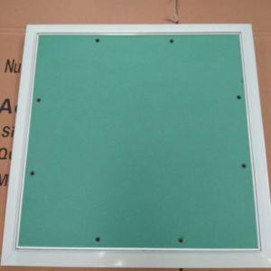 Plaques de plâtre décoratif Moistureproof en aluminium Panneau d'accès au plafond