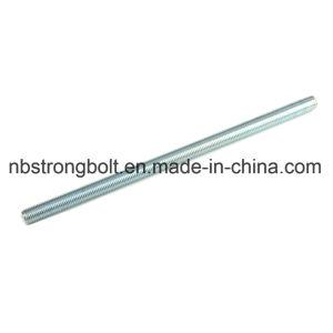 DIN975 Gr. 8,8 bar com preto Oxid rosca M10