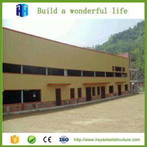 Nuevo proyecto de dos pisos de estructura de acero prefabricada almacén de la creación de dibujos