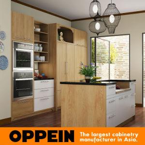 Nuevo estilo que mejor coincidan elegante madera Muebles de Cocina (OP15-M02)
