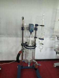 مفاعل كيميائيّة مزدوجة زجاجيّة