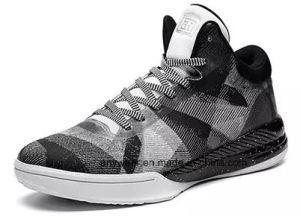 De nieuwe Schoenen van de Tennisschoen van het Basketbal van de Sporten van de Mensen van het Schoeisel van de Manier Atletische met Bovenleer Flyknit (815)