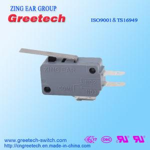 Micro- van de Fabriek van Zingear Elektrische Schakelaar met UL/ENEC/CQC Ceritificates