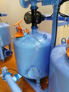 Arena de Cuarzo automático de agua Equipos de filtración de los medios de comunicación /Double-Chamber con dos cilindros de 36 pulg.