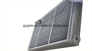 전분 기계장치를 위한 공기 냉각기 그리고 공기에 의하여 냉각되는 열교환기