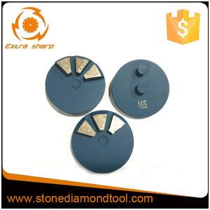 Disco di molatura di rifinitura del pavimento del diamante di 3 segmenti