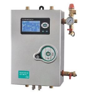 tubo de calor tubo de vácuo de aquecedor solar de água pressurizada dividido com o armazenamento depósito de água Quente Solar 300L