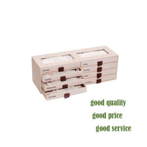 Caja de regalo papel de embalaje para el chocolate, vino, correa