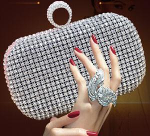 Nuevo Diseñador de bolsos de lujo en plena noche Bolsa Cultch Diamante (xw717)