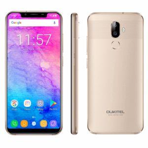 De Mobiele Telefoon Cellulaire Movil van Oukitel U18 de Slimme Vingerafdruk Smartphone van de Telefoon