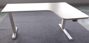 Manuelle Höhen-sitzen justierbarer Schreibtisch-Rahmen, und stehen Büro-Computer-hölzernen Schreibtisch