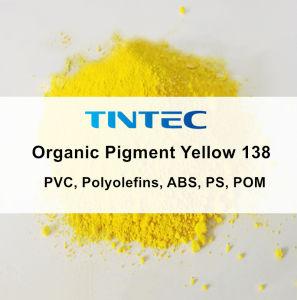 Pigmento giallo organico 138 del colorante (PVC, POLIOLEFINE, ABS, PS, POM)