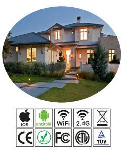 Commerce de gros RGB/RGBW 8W E27 d'éclairage LED Energy Saving ménage/Commerical WiFi ampoule lampe LED intelligent