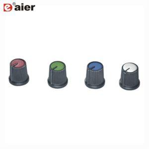 Perno di plastica della plastica dell'asta cilindrica del Control-D del potenziometro zigrinato di 6mm