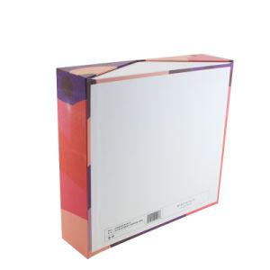 주문을 받아서 만들어진 메이크업 솔 세트 인쇄된 접히는 서류상 장식용 선물 상자