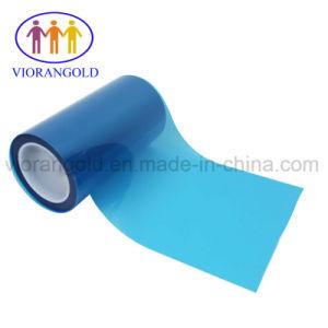型抜きの企業のためのシリコーン油が付いている25um/36um/50um/75um/100um/125umの透過か青いペットはく離ライナー