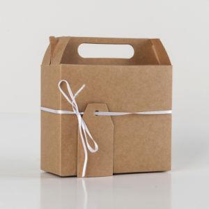 Het Europese Grote Vakje van het Suikergoed van de Gift van de Vakjes van de Gift van het Document van Kraftpapier
