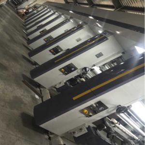 Gwasy-B1 computerisierte die 8 Farben-Gravüre-Drucken-Maschine (Motor drei)