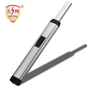 Accenditore elettronico ricaricabile, singola cassaforte della sigaretta del USB della scintilla dell'arco da usare sul BBQ del gas