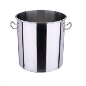 50cm/60cm em aço inoxidável de grande capacidade de Fins Múltiplos de caçamba sopa