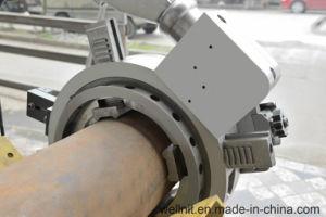 Tubo de protección del medio ambiente de la máquina de corte y biselado