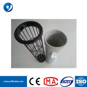 Gabbie del sacchetto filtro della polvere dell'acciaio inossidabile della centrale elettrica