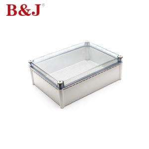 280x380x130 PI68 tampa transparente de plástico impermeável e Moisture-Proof Caixa de Junção