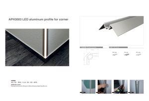 2018 наиболее популярных Aph3001 LED алюминиевый профиль для Cupping стены углу светодиодные индикаторы прекрасный и удалите приложение для проекта