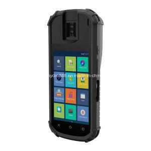 Smart Android Market 7.0 POS Terminal, apresentando um leitor biométrico de impressões digitais e leitor de cartão Contact-Less