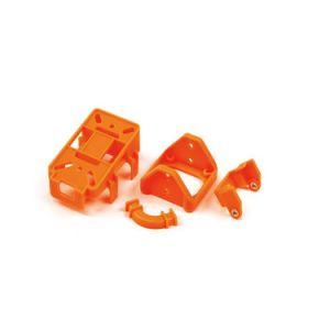 専門のカスタムプラスチック射出成形サービス/Colorfulのプラスチックシェルの部品かプラスチック注入の部品