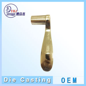 Zinc-Alloy OEM de aluminio y fundición de piezas para la construcción de Hardware en China