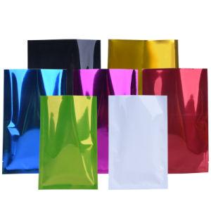Héliogravure Pringing trois côtés du joint étanche à la chaleur en aluminium Masque facial sac d'emballage en plastique