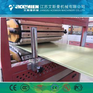 Carte murale en plastique PVC en bois de bord de la machine de fabrication
