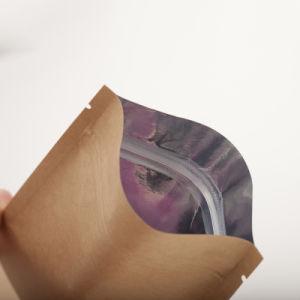 Le thé de l'emballage refermable sac sacs à fermeture ZIP avec joint de la chaleur