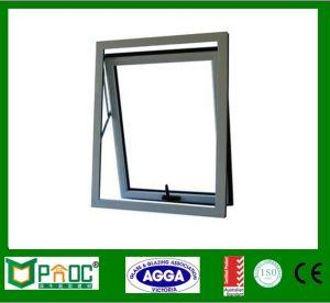 Finestra interna della tenda di formato della finestra della stanza da bagno di standard di apertura dell'alluminio