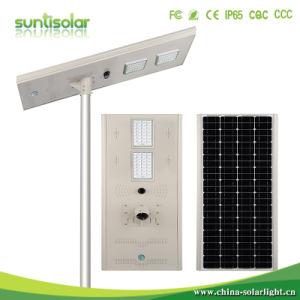 Directa de Fábrica de 120W integrada inteligente de la calle la luz solar
