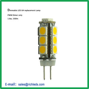 G4 LED Abwechslung Lamp/12V/1.6With150lm/10-30V