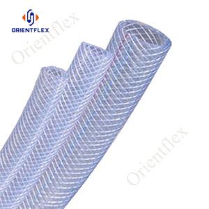 Mangueira trançada de fibra de PVC de alta pressão