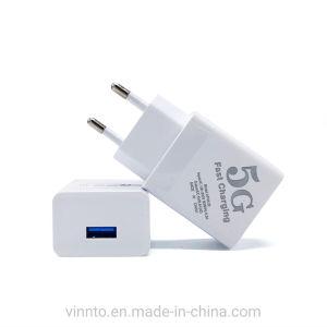Simple Double 3 ports USB de l'UE Fiche voyage nous l'alimentation Adaptateur chargeur mural USB micro