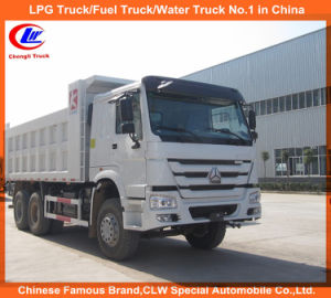砂および石のための18-25tons HOWO 6*4のダンプの貨物自動車のトラック
