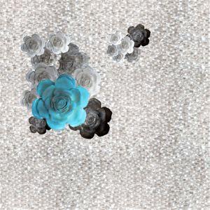 100% tessuto stampato poliestere con rivestito (PPF-047)