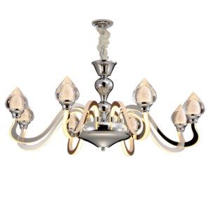 Venta caliente en el techo de metal decorativo moderno de la luz de lámpara colgante